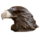 Bronze Eagle Head Keepsake Urn