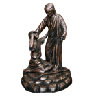 Jesus and the Blind Man Sculpture Urn