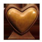 Heart to Heart Bronze Sculpture Companion Urn