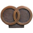 Eternally Bound Bronze Sculpture Companion Urn