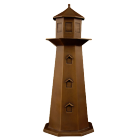 Lighthouse Bronze Sculpture Urn