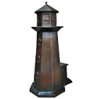 Lighthouse with Portico Bronze Sculpture Urn