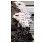 American Pride Bronze Sculpture Urn