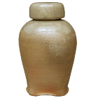 Wood Fired Celadon Ginger Jar