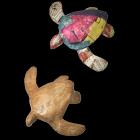 Mini Paper Turtle Urn