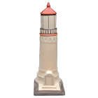 Lighthouse Porcelain Urn
