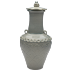Lotus Porcelain Urn