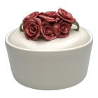 Roses Porcelain Funeral Urn
