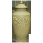 Celtic Dragon Porcelain Urn