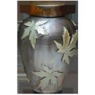 Falling Maple Leaves Urn