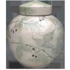 Botanical Fruit Artisan Urn