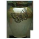 Monarch Raku Pottery Urn