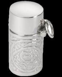 Floral Cylinder Urn Charm