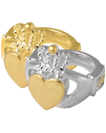 Cremation Jewelry: Claddagh Ring