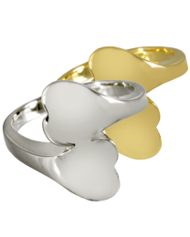 Companion Heart Ring Cremation Jewelry