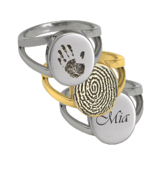Personalized V Ring