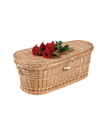Woven Child Sized Biodegradable Coffin