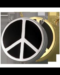 Peace Sign Urn Pendant