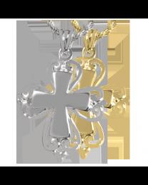 Romantic Cross Urn Jewelry