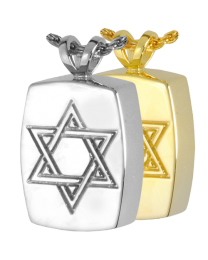 Cremation Jewelry: Star of David