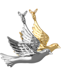 Dove Cremation Pendant