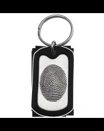Personalized Memorial Key Ring
