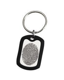 Personalized Memorial Key Ring