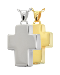 Cross Cremation Pendant