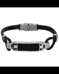 Stainless Steel Unisex Keepsake Bracelet