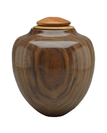 Craftsman Artisan Urn in Black Walnut