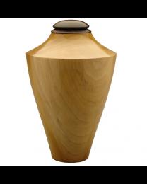 Eternal Heartwood Poplar-Ebony Wood Urn