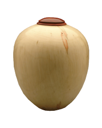 Eternal Heartwood Box Elder Red Heart Wood Urn