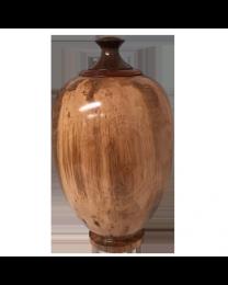 Fine Ambrosia Maple Wood Finial Urn