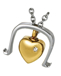 Stainless Steel Bold Heart
