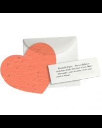 Plantable Heart Memorial - Set of 100