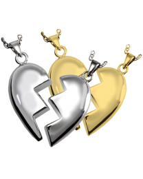 Broken Heart Companion Pendant