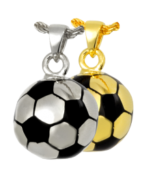 Cremation Jewelry: Soccer Ball