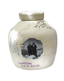 Biodegradable Autograph Urn