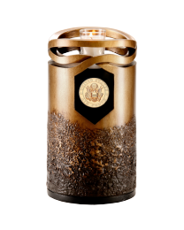 Cast Resin Cold Cast Bronze Finish Urn
