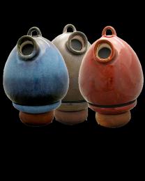 Egg Birdhouse Scattering Urn