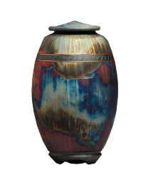 Majestic Raku Fired Urn