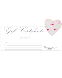 My Condolences Gift Certificate