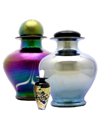 Art Glass Cremation Urn