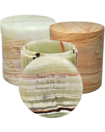 Marble Cylinder Sharing Urn