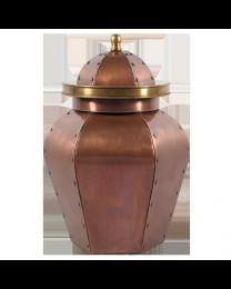 Majestic Copper Cremation Urn