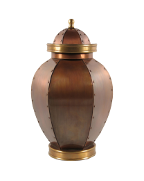Bold Impressions Copper Cremation Urn