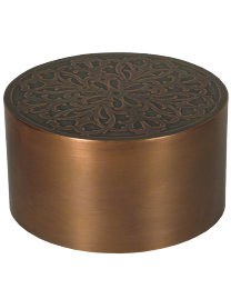 Florentine Copper Cremation Urn