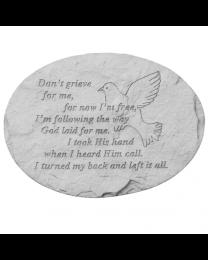 memorial garden stone for a romantic partner