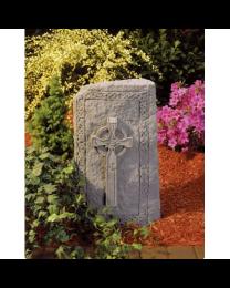 Celtic Cross Vertical Stone Garden Marker