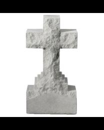 Cross Shaped Stone Garden Marker